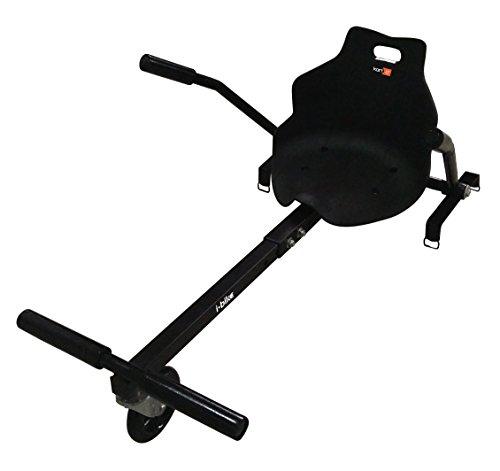 "I-Bike Kart Kit adatto per Hoverboard da 6,5"" - 8"" - 10'', Nero"