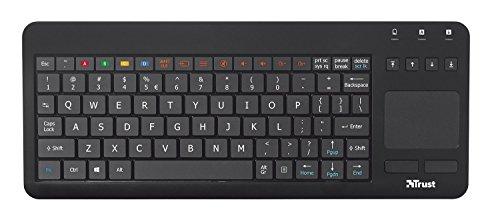Trust Sento Universal Tastatur für Samsung Smart TV (deutsches Tastaturlayout, QWERTZ) schwarz
