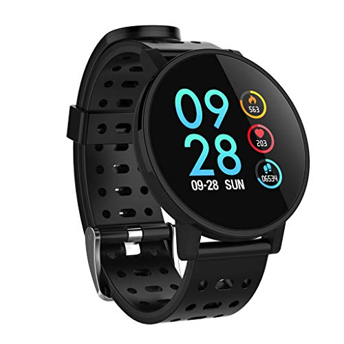 Challenge Smartwatch,1.3 Pollici Orologio Fitness Tracker Cardiofrequenzimetro da Polso Smartwatch...