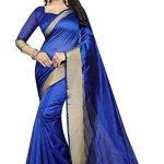 TRYme Fashion Chiffon Saree With Blouse Piece