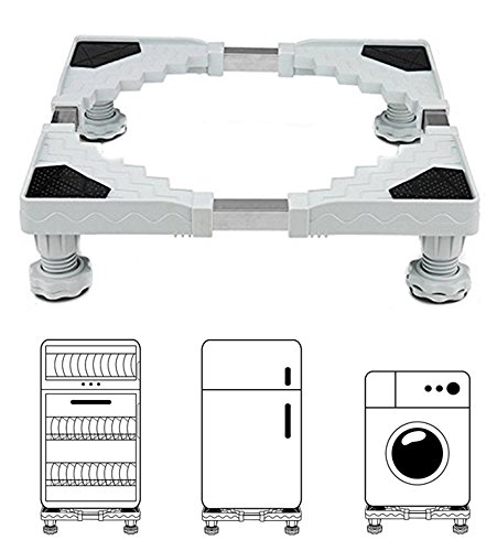 Miyare base regolabile per frigorifero lavatrice Stent durevole carico pesante 300 kg prevenire...