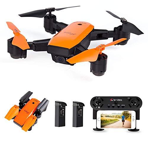 le-idea IDEA7 - Drone GPS con videocamera 1080P Fov 120 °, Trasmissione Live WiFi FPV HD, Follow...