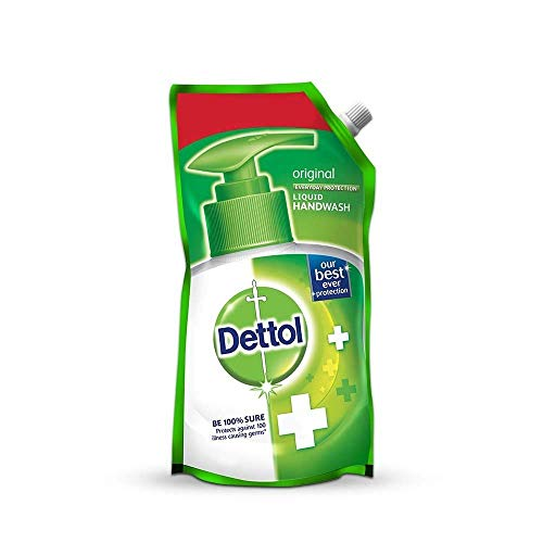 Dettol Original Liquid Soap Refill - 750 ml (Pack of 2)