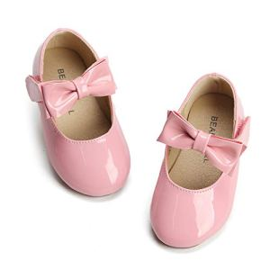 Bear Mall Mary Janes Girls Toddler Ballet Flats Pink White Black Red Shoes for Girls 41n59aRODzL