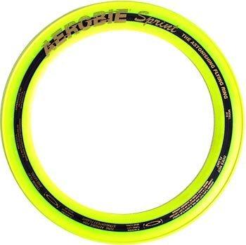 New Games Frisbeesport Aerobie - Aro volador, 25 cm amarillo amarillo