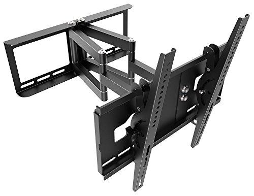 RICOO Supporto da parete per TV Montaggio R48 Staffa per televisore piatto inclinabile girevole...