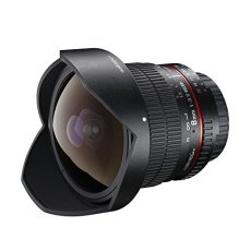 Walimex Pro - Objetivo ojo de pez 1:3,5 DSLR para Canon EF-S, color negro