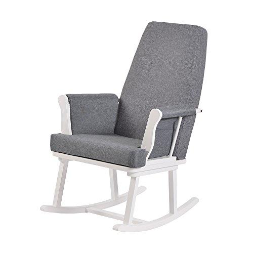 Kub Haldon allattamento sedia a dondolo (bianco)