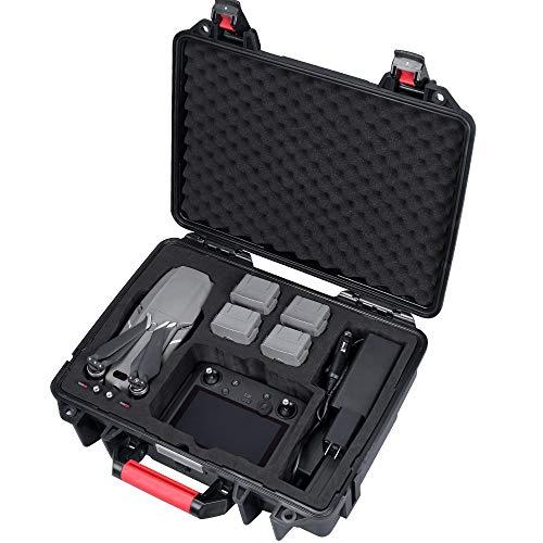 Smatree Valigia Professionale Impermeabile per DJI Mavic Pro2& Zoom, adatta con DJI Smart Controller, Intelligent Flight Battery, Caricabatteri e accessori