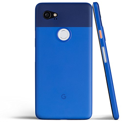 Pixel 2 XL Case, Thinnest Cover Premium Ultra Thin Light Slim Minimal Anti-Scratch Protective - for Google Pixel 2XL | totallee (Really Blue)