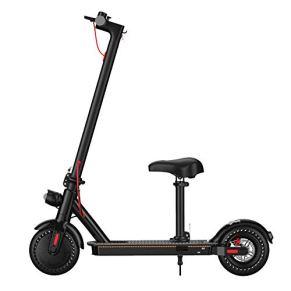 AQAWAS Patinete Electrico Adultos, E-Scooter Aluminio Ultraligero, Ruedas Antirreventón Scooter Eléctrico Ajustable La…