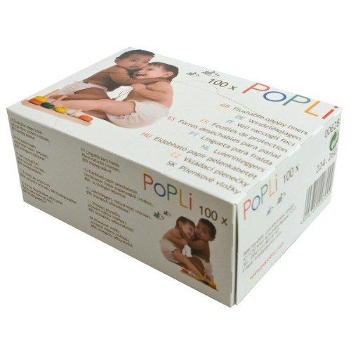 Popli - Confezione da 100 pannolini per scatola