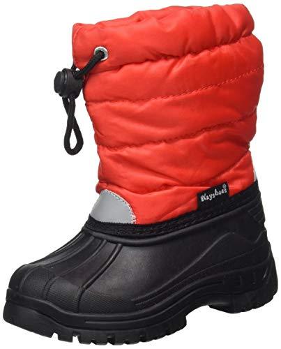 Playshoes Stivaletti Invernali-Classic, Stivali da Neve Unisex - Bambini, Rosso Rot 8, 22/23 EU