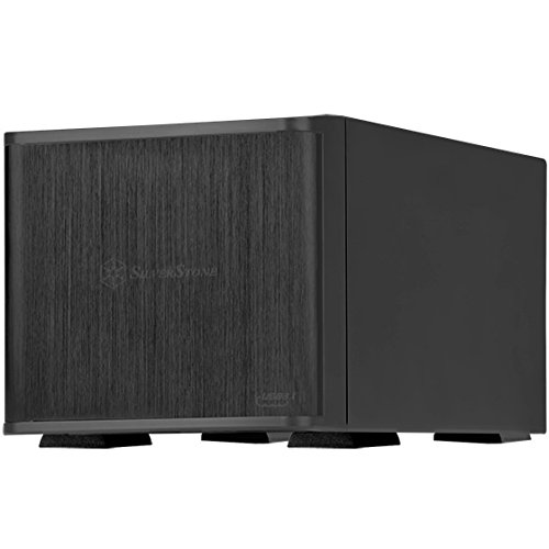 "SilverStone Technology 2 Bay external 3.5"" Hard Drive Enclosure RAID/JBOD Storage Tower - USB3.1 & USB Type-C Interfaces (TS231U-C)"