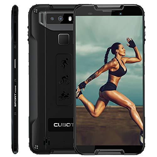 CUBOT Quest Rugged Smartphone 5.5 Pollici Corning Gorilla 5th, 4GB + 64GB, Impermeabile IP68,...