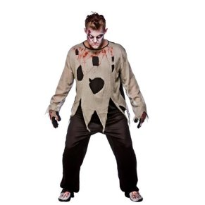 Zombie Priest - Adult Costume Men : X LARGE
