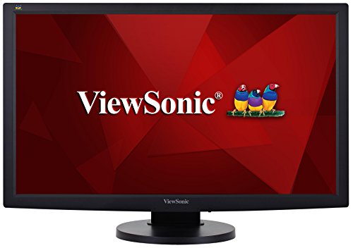 Viewsonic VG2233-LED 54,6 cm (22 Zoll) Business Monitor (Full-HD, Höhenverstellbar) Schwarz