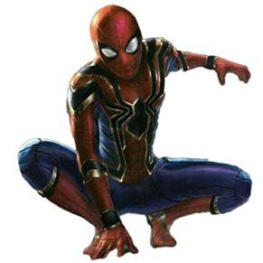 SPIDERMANHTT Traje de Spiderman de impresión 3D Medias de cosplay Spiderman Impresión 3D Spandex Lycra (Color : Photo Color, Size : M(161-170cm))