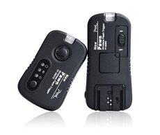 PIXEL TF363 - Mando a distancia para flash Sony, negro