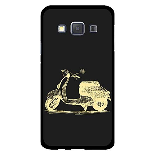 BJJ SHOP Custodia Nera per [ Samsung Galaxy A3 2015 ], Cover in Silicone Flessibile TPU, Design:...