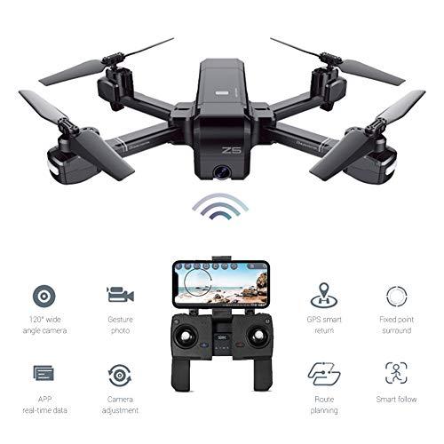 EisEyen Drone Doppio GPS RC Quadricottero 1080P HD Fotocamera App WiFi FPV Quadricottero per Controllo Principianti