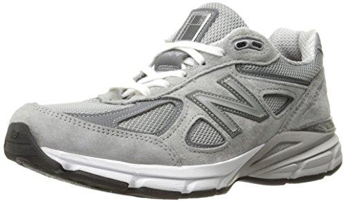 New Balance Damen W990V4 Running Shoe, Grey/Castlerock, 37.5 C/D EU