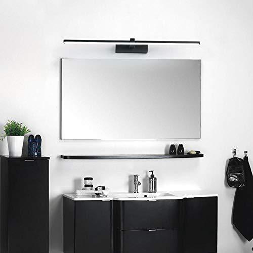 Lampada da parete a LED minimalista moderna in acciaio inossidabile con specchio da bagno a LED,Luce...