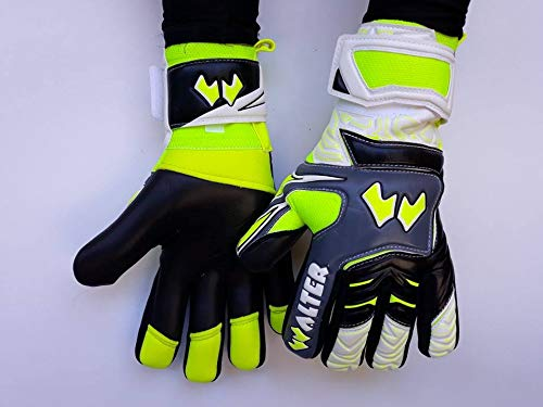 walter Guanti da Portiere Modello Devil (10, Black/White/Yellow)