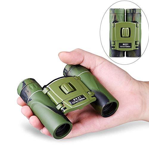Cannocchiale, Mini binocolo impermeabile antiappannamento per adulti e bambini ad alta potenza luce...
