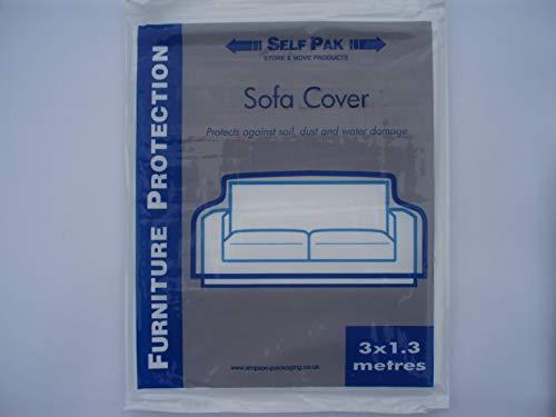 Mooveit - Copridivano (divano 2/3 posti). Copertura utile per protezione, spostamento o...
