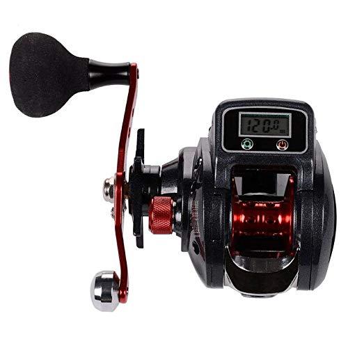 HDYXL-GSY 13 + 1BB 6.3: 1 Display Digitale Freno Magnetico Low Profile Baitcasting Mulinello da Pesca 9 velocità Freno Magnetico Attrezzatura da Pesca