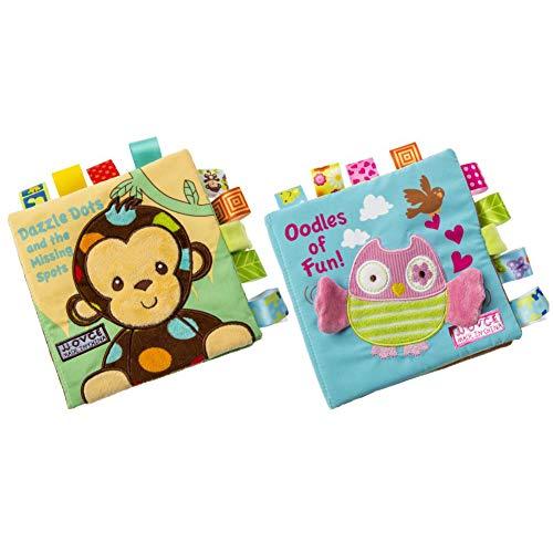 Libri Stoffa Neonati, Yuccer 2 PCS Libri Sensoriali per Bambini Libri Neonati Educativi Libro...