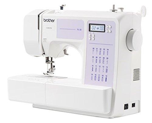 Brother FS20 - Macchina da cucire elettronica, Professionale, 32 funzioni cucito, Domestica, per...