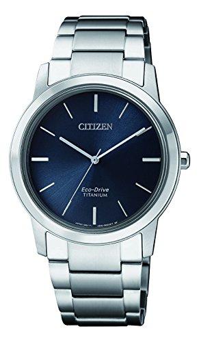 Citizen Orologio Cronografo Solare da Donna con Cinturino in Titanio FE7020-85L