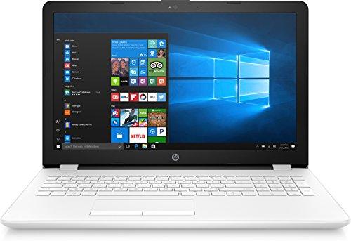 "HP Notebook 15-bs029ns - Ordenador portátil 15.6"" (Intel Celeron N3060, 4GB RAM, 512GB HDD, Windows 10), Color Blanco - Teclado QWERTY Español"