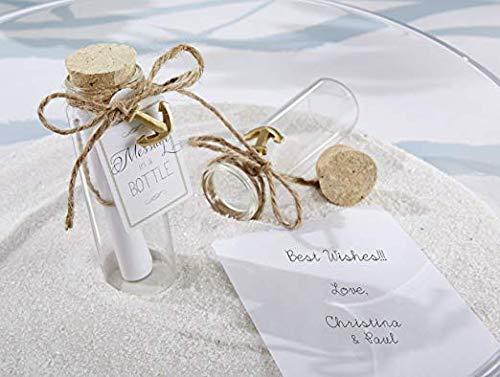DIY Crafts 20 Pcs 20ml Cork Stoppers Glass Bottles, DIY Decoration Mini Glass Bottles Favors, Mini Vials Cork, Message Glass Bottle Vial Cork, Small Glass Bottles Jars Corks for Wedding Party Favors 10