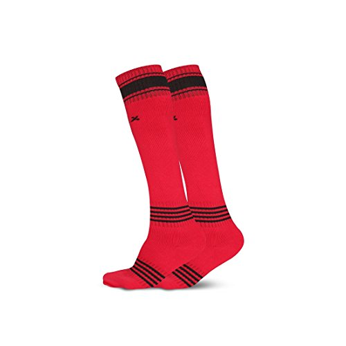 Vector X Fizer Soccer Socks (Pack of 2 Pairs) (Red)