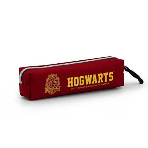 Karactermania Harry Potter Gryffindor-Square HS Pencil Case Astuccio, 22 cm, Rosso (Red)
