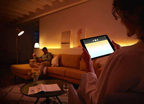 41oBJ7T9RyL [Bon Plan Philips HUE] Philips Hue Pack de 2 ampoules connectées White Ambiance E27 - Fonctionne avec Alexa