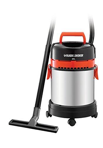 BLACK+DECKER WBV1450-QS Bidone aspiratutto Solidi e liquidi 1400W, capacità fino a 20lt