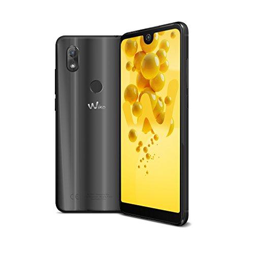 """Wiko View 2 - Smartphone con Pantalla de 6"""" (Dual SIM, Octa Core 1.4 GHz, 32 GB ROM ampliables, 3 GB RAM, cámara Selfie de 16 MP y Principal de 13 MP), Color Antracita"""