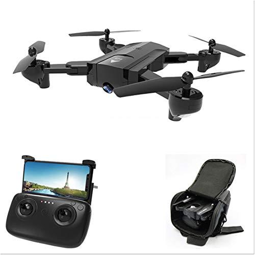 Mars Jun RC Drone con Videocamera HD grandangolare 720P Pieghevole Drone Quadcopter con WiFi FPV App Mobile Controllo Grandangolare Selfie 2.4GHz per Video dal Vivo, Headless Mode per Principianti