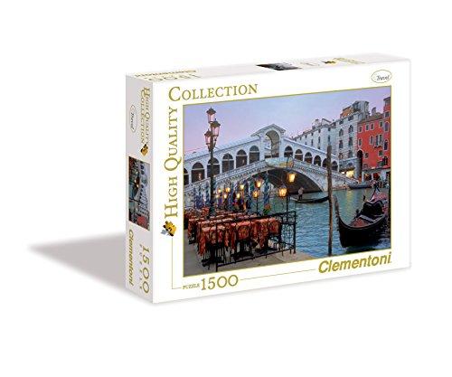 Clementoni 31982-Puzzle Collezione Alta qualità Venezia, 1500 Pezzi, Multicolore, Travel 806473