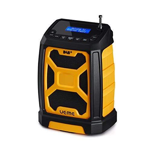 UEME Tragbares DAB+ FM Radio mit Bluetooth & Aux Anschluss, Digitalradio DAB/DAB+ Radios DB-326...