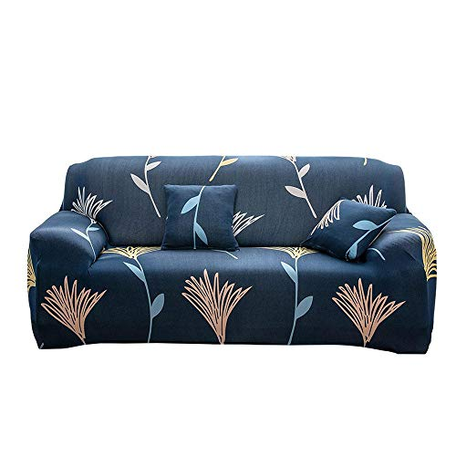 Vuffuw European Modern Style All-Inclusive Spandex Printed Fitted Elastic Couch Sofa Slipcover Furniture Protector