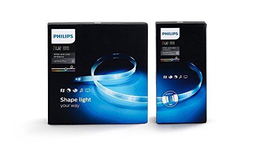 Philips Hue Lightstrip Plus Striscia LED da 200 cm + Hue Lightstrip Plus Striscia LED da 100 cm