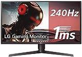LG 27GK750F-B 68,58 cm (27 Zoll) UltraGearTM Full HD Gaming Monitor (240Hz, 1ms MBR, LED, AMD Radeon FreeSync, DAS Mode), schwarz