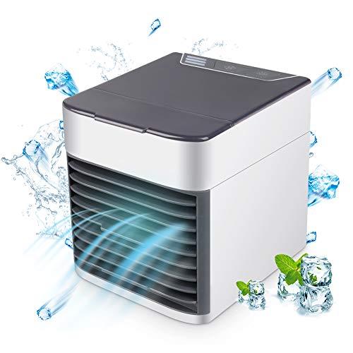 Portatile Refrigeratore d' aria Personale Condizionatore Mobile Ventilatore USB Per Ufficio Auto...