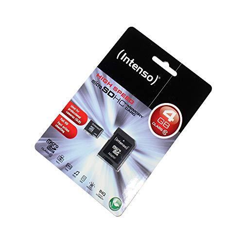 LM Scheda di Memoria MicroSDHC 4GB per Samsung Galaxy Trend Plus GT-S7580, Class 10