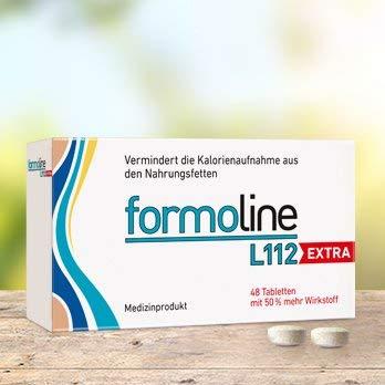 """Formoline L112 extra Spar-Set 2x48 Tabletten. Ihr extra starker \""""Kalorienmagnet\"""" zum Abnehmen und Gewicht halten. Bis zu 3 Kleidergrößen schlanker!"""